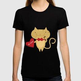 Chocoholic Spanky - February T-shirt
