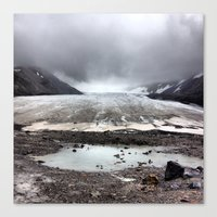 lee pace Canvas Prints featuring Glacial Pace by MARLER MADE