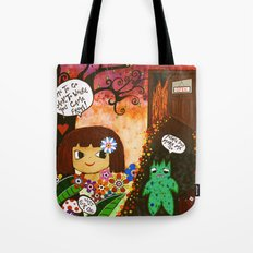 Hell is calling Tote Bag
