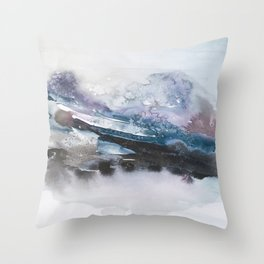 the beauty of impermanence II Throw Pillow