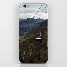 Telluride gondolas iPhone Skin