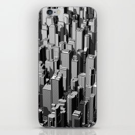 Urban Lines B&W iPhone Skin