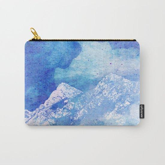 Snowy Mountain #society6 #decor #buyart Carry-All Pouch