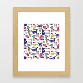 Kitchen Brights Framed Art Print