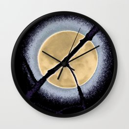 Peace in the Sky Wall Clock