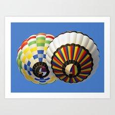 Dubai Balloon Festival Art Print