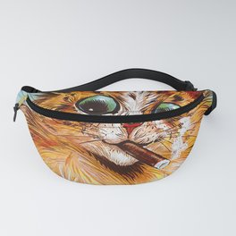"Louis Wain's Cats ""Tom Smith's Crackers"" Fanny Pack"