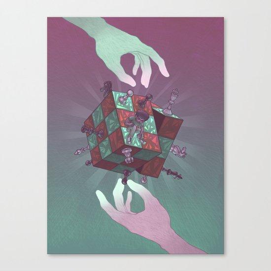 Mindgames Canvas Print