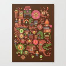 Sugar Machine Canvas Print