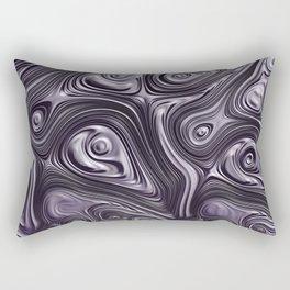 Metal Melt Rectangular Pillow