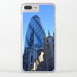 30 St Mary Axe Clear iPhone Case