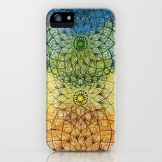 yellow, green, blue Slim Case iPhone (5, 5s)