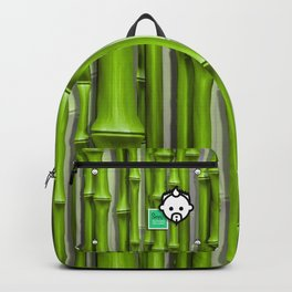 Bamboo Green HD by JC LOGAN 4 Simply Blessed Backpack