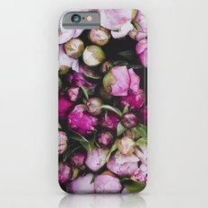 Peonies Slim Case iPhone 6s