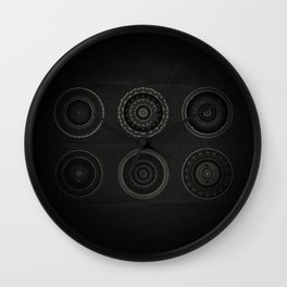 Inner Space 7 Wall Clock