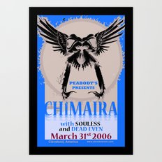 Chimaira Poster 2006 Art Print