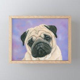 Pug Love Framed Mini Art Print