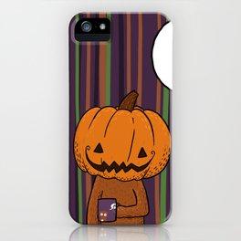 Halloween Kirk iPhone Case
