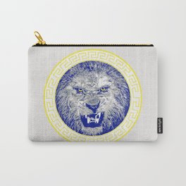 Versace Lion Carry-All Pouch