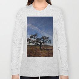 Lone Oak Tree, Laguna de Santa Rosa, Sonoma County Long Sleeve T-shirt