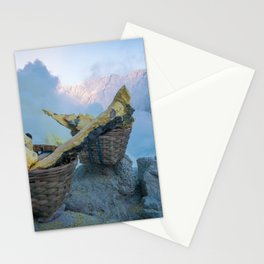 Ijen, Indonesia Stationery Cards