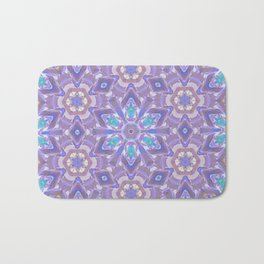 Floating Lotus flowers Bath Mat
