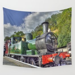 Steam Train at Bewdley Wall Tapestry