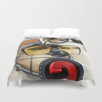 industrial Duvet Covers featuring industrial existence by Vin Zzep