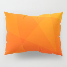 Orange Sunset Pillow Sham