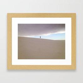 In-Between Framed Art Print