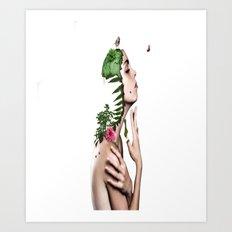 Women Creative Image Art Print