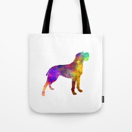 Bohemian Wirehaired Pointing Griffon in watercolor Tote Bag