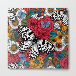 A colorful garden  Metal Print