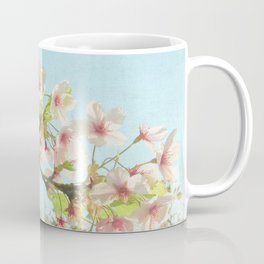 Pink on White Coffee Mug