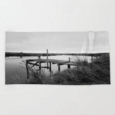 The Whitebait Stand Beach Towel