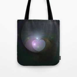 Please Rescue My Heart Fractal Tote Bag