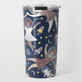 Girls in space Travel Mug