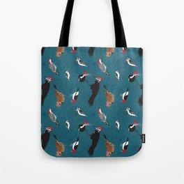 North American Woodpeckers Tote Bag
