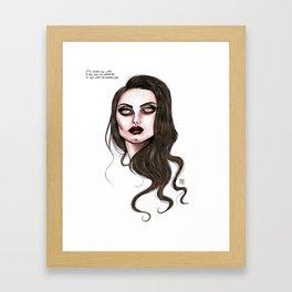 Lana No. 5 Framed Art Print