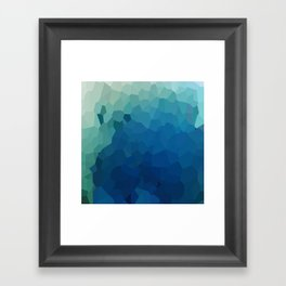 Sea Moon Love Framed Art Print