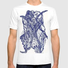 OCTOPUS Mens Fitted Tee MEDIUM White
