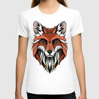 andreas preis T-shirts featuring Fox // Colored by Andreas Preis