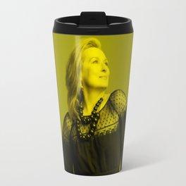 Meryl Streep - Celebrity (Florescent Color Technique) Travel Mug