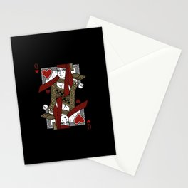 Omnia Suprema Queen of Hearts Stationery Cards