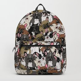 Social Frenchies Backpack