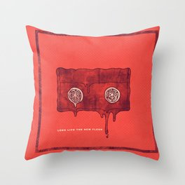 Videodrome Throw Pillow