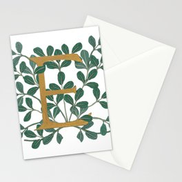 Letter E Forest Lite 2020 Stationery Cards