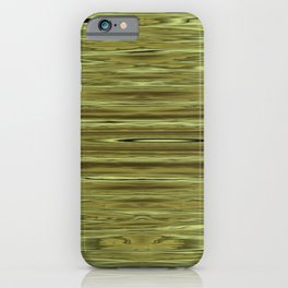 Abstraction Serenity in Pinewood iPhone Case