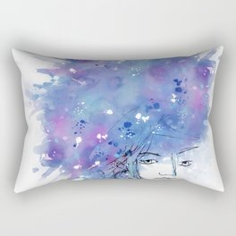 Blues on head Rectangular Pillow