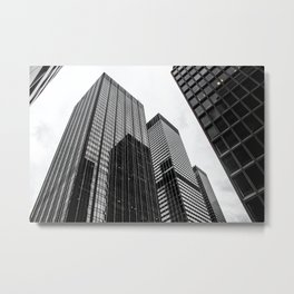 ArtWork New York City Print Work black white Metal Print